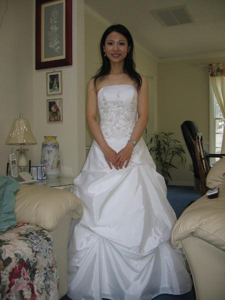 Wedding dress alteration by Ruth, Bridal Alterations by Ruth in Raleigh NC