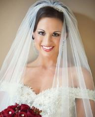 Amanda Watson, Miss NC 2008, wedding gown alterations by Ruth
